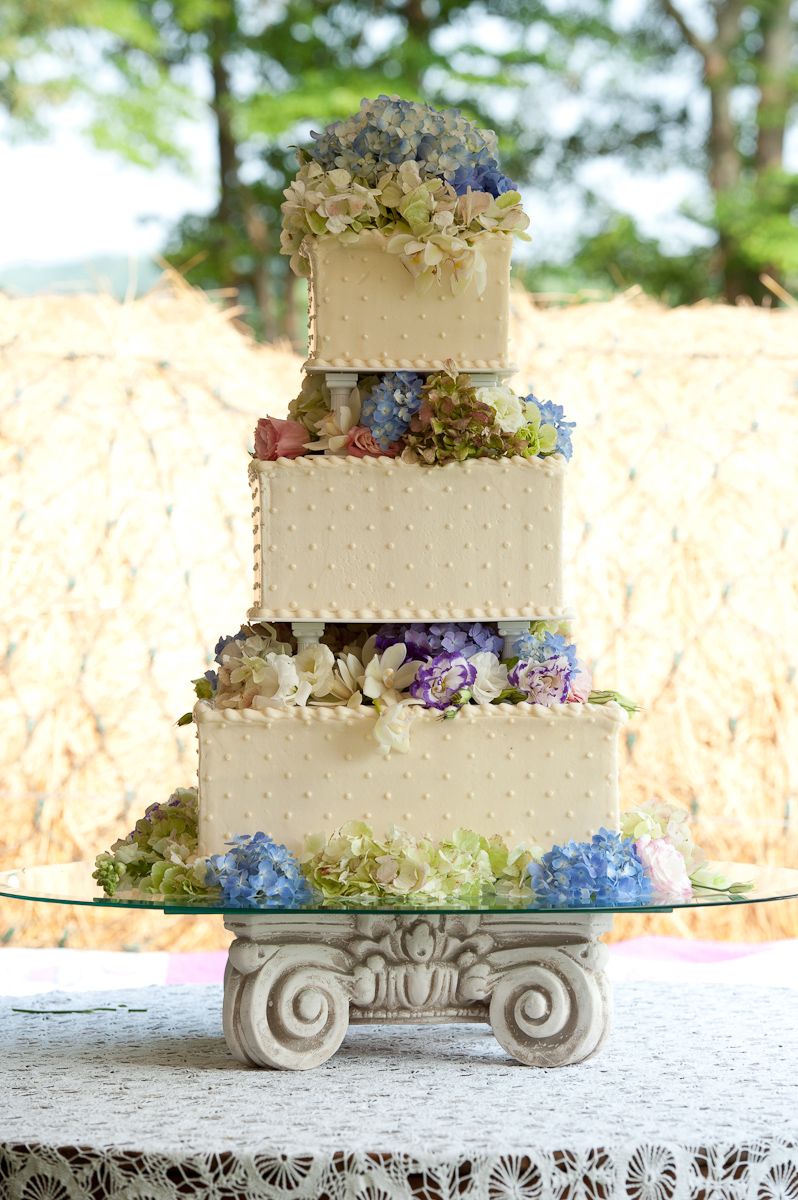 Wedding Cake Ideas For Outdoor Weddings : Angie s Outdoor Wedding - Too Pretty To Eat
